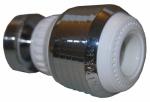 Larsen Supply 09-9923 CHR/WHT Swiv Aerator