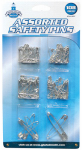 Great Lakes Wholesale 541057 108PC Safe Pin ASSTD