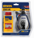 Irwin Industrial Tool 1932888 100-Ft. Speed Line Chalk Pro Reel + Red Chalk, 4-oz.