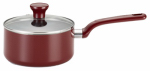 T-Fal/Wearever C9122464 Excite Fry Pan, Non-Stick, Cherry Red, 3-Qt.