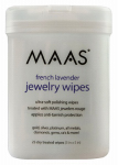 Maas International 91558 Jewelry Wipes, Lavender Scent, 25-Ct.