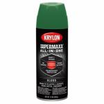 Krylon Diversified Brands K08956000 SuperMaxx All-In-1 Spray Paint & Primer, Gloss, Field Green, 12-oz.