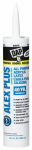Dap 18152 Alex Plus White Acrylic Latex Caulk, 10.1-oz.