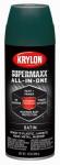 Krylon Diversified Brands K08979000 SuperMaxx All-In-1 Spray Paint & Primer, Satin, Hunter Green, 12-oz.