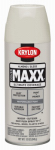 Krylon Diversified Brands K09100000 CoverMaxx Spray Paint & Primer, Gloss, Almond, 12-oz.