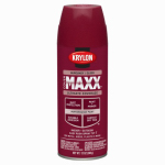 Krylon Diversified Brands K09109000 CoverMaxx Spray Paint & Primer, Gloss, Burgundy, 12-oz.