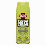Krylon Diversified Brands K09113000 CoverMaxx Spray Paint & Primer, Gloss, Citrus Green, 12-oz.