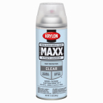 Krylon Diversified Brands K09116000 CoverMaxx Spray Paint & Primer, Gloss, Clear Acrylic, 12-oz.