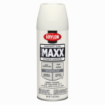 Krylon Diversified Brands K09117000 CoverMaxx Spray Paint & Primer, Gloss, Dover White, 12-oz.