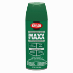 Krylon Diversified Brands K09118000 CoverMaxx Spray Paint & Primer, Gloss, Emerald Green, 12-oz.