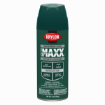 Krylon Diversified Brands K09124000 CoverMaxx Spray Paint & Primer, Gloss, Hunter Green, 12-oz.