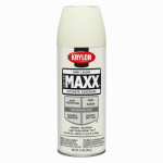 Krylon Diversified Brands K09125000 CoverMaxx Spray Paint & Primer, Gloss, Ivory, 12-oz.
