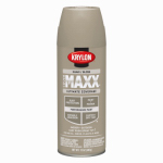 Krylon Diversified Brands K09127000 CoverMaxx Spray Paint & Primer, Gloss, Khaki, 12-oz.