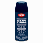 Krylon Diversified Brands K09130000 CoverMaxx Spray Paint & Primer, Gloss, Navy Blue, 12-oz.