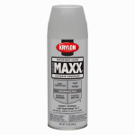 Krylon Diversified Brands K09132000 CoverMaxx Spray Paint & Primer, Gloss, Pewter Gray, 12-oz.
