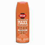 Krylon Diversified Brands K09133000 CoverMaxx Spray Paint & Primer, Gloss, Pumpkin Orange, 12-oz.