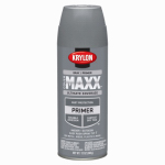 Krylon Diversified Brands K09183000 CoverMaxx Spray Primer, Gray, 12-oz.
