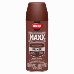 Krylon Diversified Brands K09186000 CoverMaxx Spray Primer, Red Oxide, 12-oz.