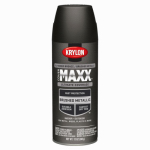 Krylon Diversified Brands K09191000 CoverMaxx Spray Paint & Primer, Metallic, Oil-Rubbed Bronze, 12-oz.