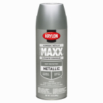 Krylon Diversified Brands K09193000 CoverMaxx Spray Paint & Primer, Metallic, Aluminum, 12-oz.