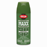 Krylon Diversified Brands K09139000 CoverMaxx Spray Paint & Primer, Gloss, Seaweed, 12-oz.