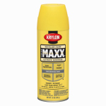 Krylon Diversified Brands K09142000 CoverMaxx Spray Paint & Primer, Gloss, Sun Yellow, 12-oz.