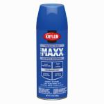 Krylon Diversified Brands K09144000 CoverMaxx Spray Paint & Primer, Gloss, True Blue, 12-oz.