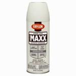 Krylon Diversified Brands K09155000 CoverMaxx Spray Paint & Primer, Satin, Almond, 12-oz.