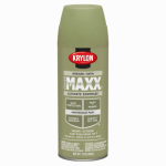 Krylon Diversified Brands K09156000 CoverMaxx Spray Paint & Primer, Satin, Avocado, 12-oz.