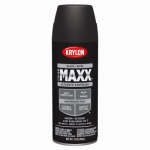 Krylon Diversified Brands K09158000 CoverMaxx Spray Paint & Primer, Satin, Black, 12-oz.