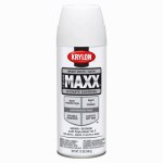 Krylon Diversified Brands K09159000 CoverMaxx Spray Paint & Primer, Satin, Bright White, 12-oz.