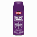 Krylon Diversified Brands K09137000 CoverMaxx Spray Paint & Primer, Gloss, Rich Plum, 12-oz.
