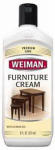 Weiman Products 04 Furniture Cream with Lemon Oil, 8-oz.