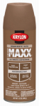 Krylon Diversified Brands K09160000 CoverMaxx Spray Paint & Primer, Satin, Brown Boots, 12-oz.