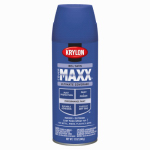 Krylon Diversified Brands K09165000 CoverMaxx Spray Paint & Primer, Satin, Iris, 12-oz.