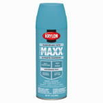 Krylon Diversified Brands K09166000 CoverMaxx Spray Paint & Primer, Satin, Island Splash, 12-oz.