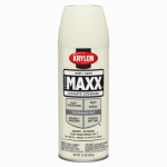 Krylon Diversified Brands K09168000 CoverMaxx Spray Paint & Primer, Satin, Ivory, 12-oz.