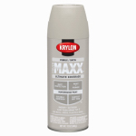 Krylon Diversified Brands K09173000 CoverMaxx Spray Paint & Primer, Satin, Pebble, 12-oz.