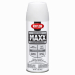 Krylon Diversified Brands K09178000 CoverMaxx Spray Paint & Primer, Satin, White, 12-oz.