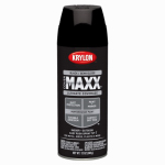 Krylon Diversified Brands K09180000 CoverMaxx Spray Paint & Primer, Semi-Gloss, Black, 12-oz.