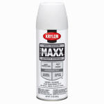 Krylon Diversified Brands K09181000 CoverMaxx Spray Paint & Primer, Semi-Gloss, White, 12-oz.