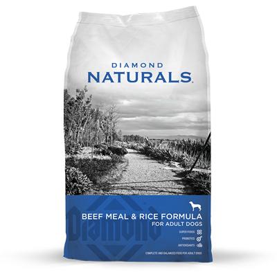 Diamond Pet Foods 60833 Naturals Beef/Rice Dog Food, 40-Lb.