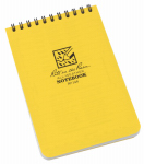 Rite In The Rain/ J L Darling 146 Notebook, Top Spiral, Yellow, 4 x 6-In.