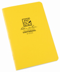 Rite In The Rain/ J L Darling 371FX Notebook, Side Stapled, Yellow, 4-5/8 x 7-In., 3-Pk.
