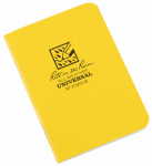 Rite In The Rain/ J L Darling 371FX-M Mini Notebook, Side Stapled, Yellow, 3-1/4 x 4-5/8-In., 3-Pk.