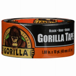 Gorilla Glue 60124 Tape, Black, 1.88-In. x 12-Yds.