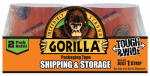 Gorilla Glue 6030402 Packaging Tape, Clear, 3-In. x 30-Yds., 2-Pk.