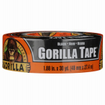 Gorilla Glue 6035060 Duct Tape, Black, 1.88-In. x 35-Yds.