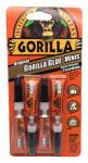 Gorilla Glue 5000503 Original Glue Minis, 3g Tubes, 4-Pk.