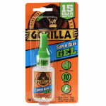 Gorilla Glue 7600103 Super Glue Gel, 15-gm.